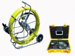 60m Self Levelling Drain Inspection Camera