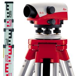 Leica NA 720  Automatic Optical Builders Level KIT (Includes: NA720 Level / Tripod / Levelling Staff