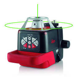 Roteo 35G Fully Automatic Automatic Horizontal / Vertical Green Laser Level With Motorised Wall Mount