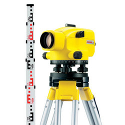 Jogger 20 Automatic Optical Level Package - Includes Tripod & Staff